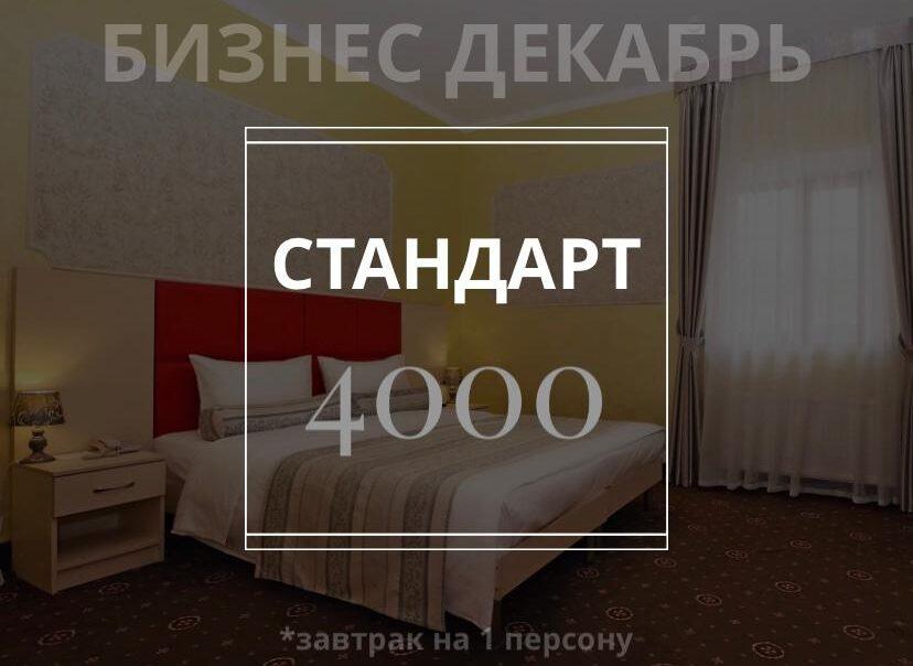 Бизнес Декабрь — Стандарт за 4000 рублей/сутки с завтраком